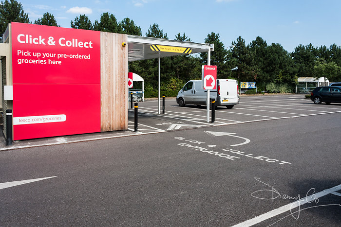 Tesco Click and Collect