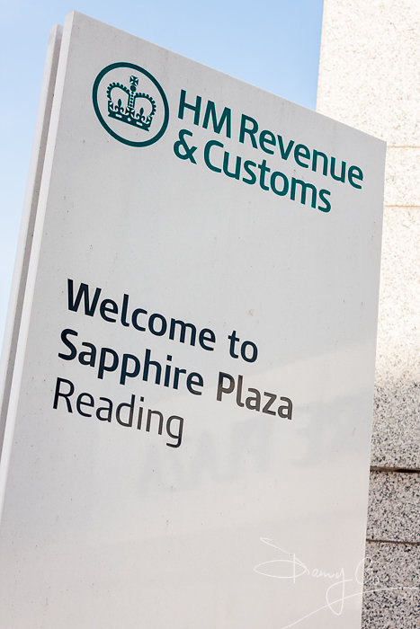 HMRC Offices Sign