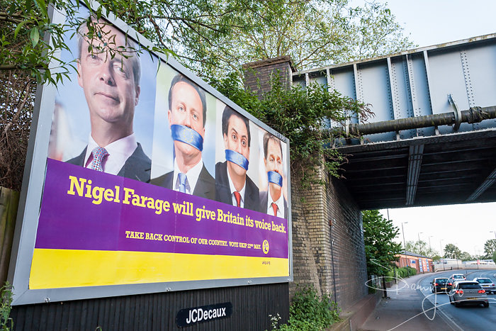 UKIP EU elections poster