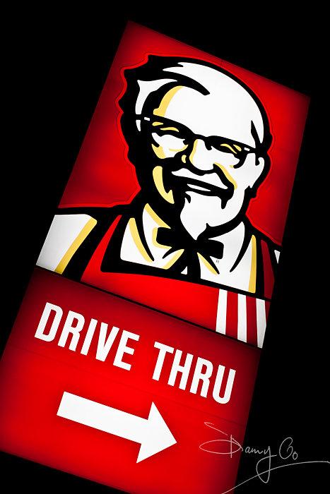 KFC Drive-thru Sign