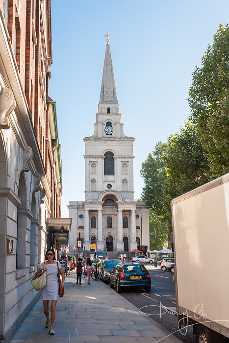 Christ Church, Spitalfields, London, England, GB, UK