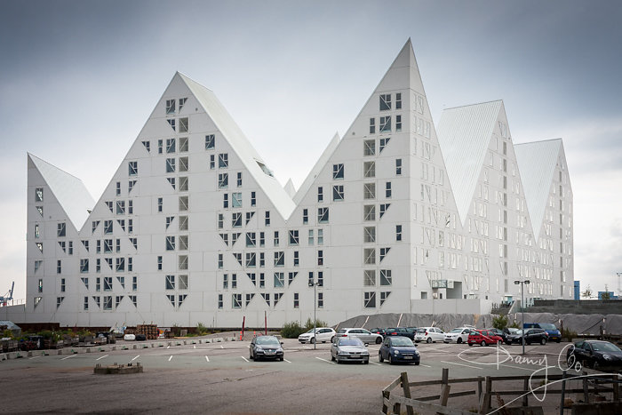 The Iceberg apartment complex